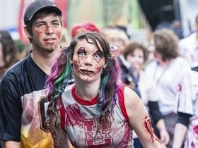 Hungry zombies march on Toowoomba