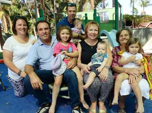 Grandparents get a taste of fun at kindy