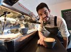 Barista - Tyler Pask. Photo: Alistair Brightman / Fraser Coast Chronicle