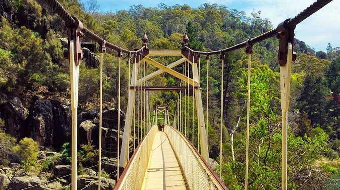 TOP SPOTS: The beautiful Cataract Gorge in Launceston, Tasmania. Photo Contributed