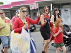 Walk for Daniel from Ipswich. Photo Inga Williams / The Queensland Times