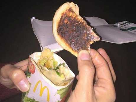 Photo posted to McDonald's Complaints.