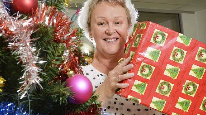 TIME FOR GIVING: QT Adopt-a-Family appeal co-ordinator Karen McCoombes is ready to help make Christmas a special time for 250 families.