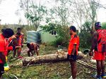 Volunteers flood in to Fernvale after storm
