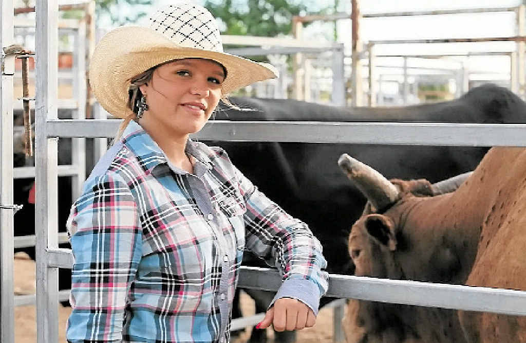 FAMILY BUSINESS: Aged 19, Dakota Brandenburg is the youngest female Professional Bull Rider Association contractor in Australia