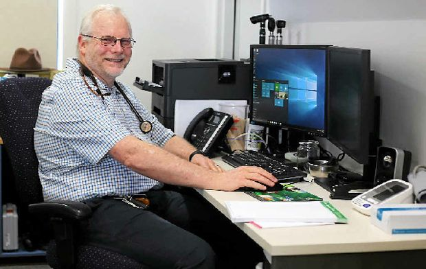 NEW ROLE: Dr Ewen McPhee is the president of the Rural Doctors Association of Australia.