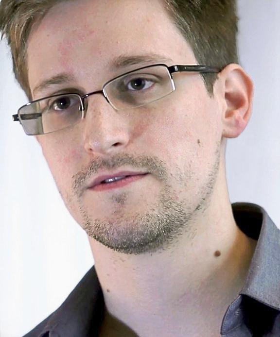 American activist Edward Snowden, who leaked classified information from the US National Security Agency (NSA), starting in June 2013.