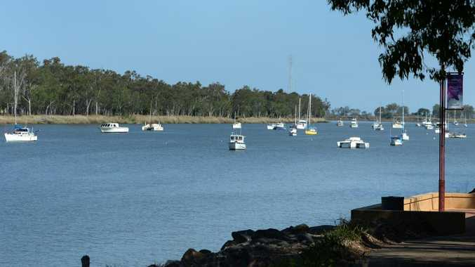 Boats moored on the Fitzroy River in Rockhampton. Generic Rockhampton. Photo: Chris Ison / The Morning Bulletin