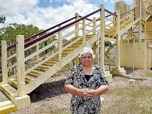 Century-old Howard footbridge to go
