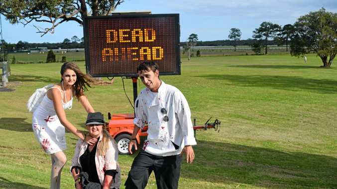 SPOOKY STREETS: Halloween marks the first annual Coffs Harbour Zombie Walk