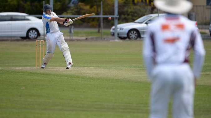 CRICKET ACTION: ATW 1's Matt Fulton batting at Salter Oval. Photo: Mike Knott / NewsMail