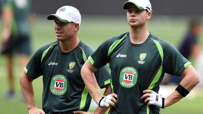Under new management ... Australia's David Warner and Steve Smith (right). Photo: Saeed Khan/AAP Image.