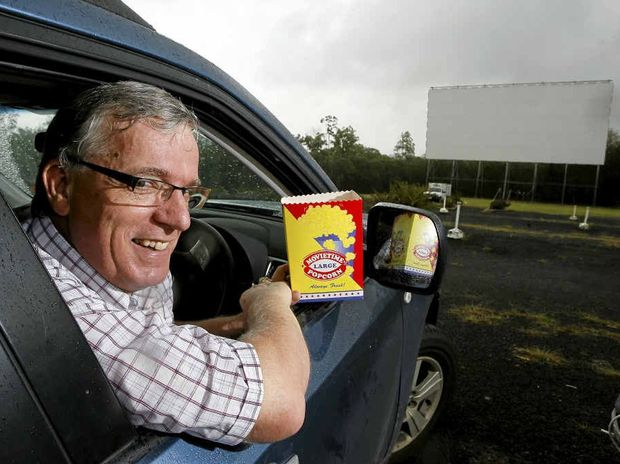 HUGE PLANS: Pastor Fred Muys at the Tivoli Drive-In.