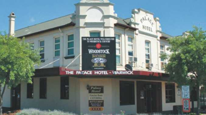 The Palace Hotel in Warwick has closed down today.