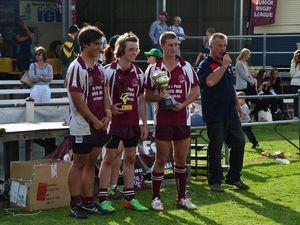 Landers re-elected Warwick Junior Rugby League president