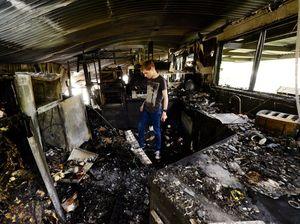 VIDEO: Firies hurt in Aratula house blaze