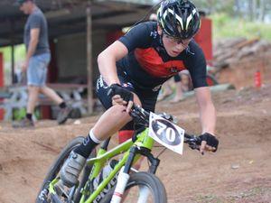 Zach may be club champion at MAD Mountain Bike Club
