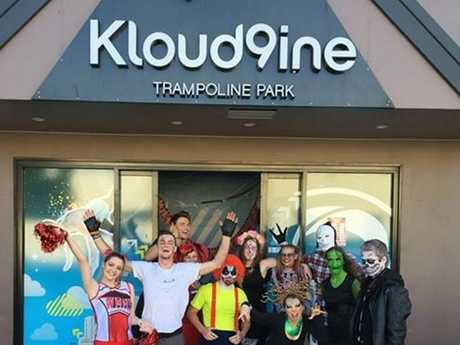Shani White: The staff at Kloud9ine today. Photo Contributed / The Chronicle