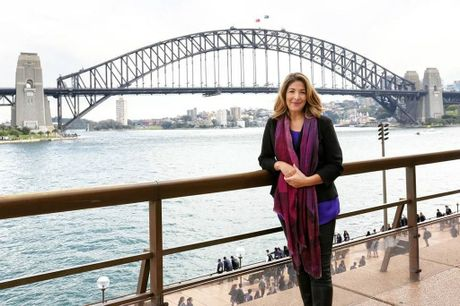 Author Naomi Klein visits Australia to promote her book.