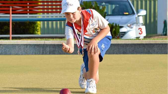 BOWLS BRILLIANCE: Jake Rynne is among a talented crop of juniors at Club Kawana.