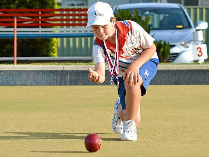 BOWLS BRILLIANCE: Jake Rynne is among a talented crop of juniors at Club Kawana.