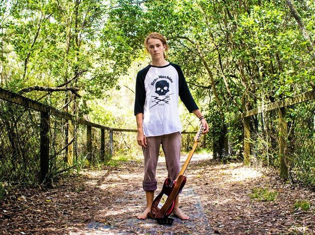 SHOWCASED: Murwillumbah musician Squeak Lemaire will perform at the Mullum Music Festival.