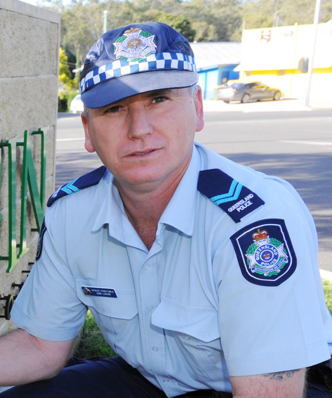 Senior Constable Dan Lukan (photo: file).