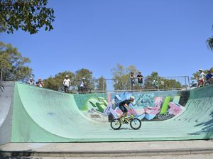 Skateboarding demos, workshops held today and tomorrow