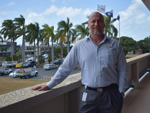 NEW ADDITION: Mackay Regional Council Chief Executive Officer Dr Brett Heyward Photo Louise Starkey / Daily Mercury