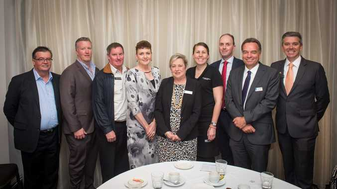 The Toowoomba Chamber of Commerce has welcomed its new board of directors (from left) Gary Love, Dan Dwan, Don Frost, Denise Quinn, Joy Mingay, Tammy Wilson, David Coote, Carl Rallings and Julian Lancaster-Smith. (Absent: Trevor Schwenke and Mark Cecil.