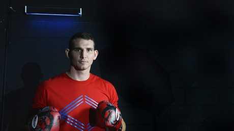 Boxer Demsey McKean. Photo Inga Williams / The Queensland Times