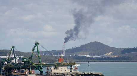Curtis Island LNG shipment