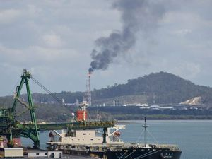 Curtis Island flaring brings plume of black smoke