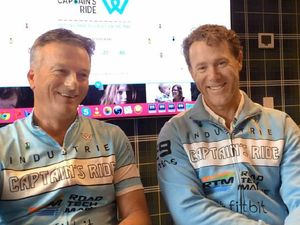 Steve Waugh's big ride for sick kids