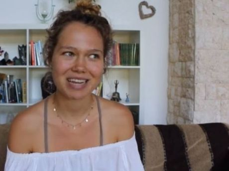 A still of Essena O'Neill in the first video published on her new Let's Be Game Changers website.