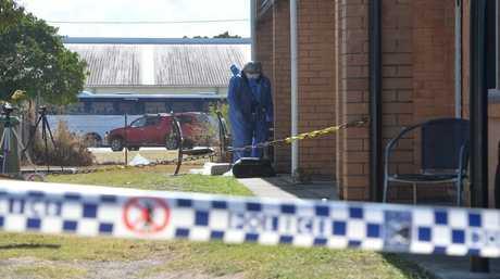 Scene of a murder in North Mackay.