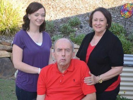Danny Capner with daughter Hope Crane and wife Sharyn.