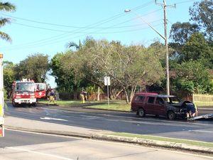 Car fire at Goonellabah