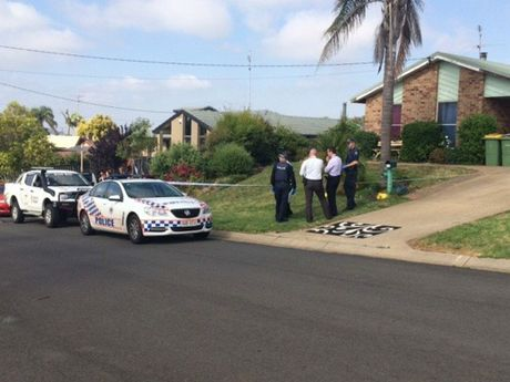Police have declared a crime scene in Mollison Crt, Wilsonton.