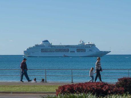 Cruise ship, Mooloolaba. Photo Contributed