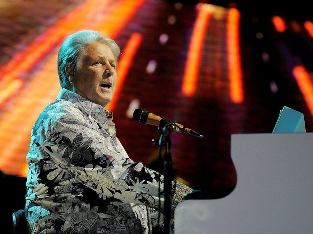 Brian Wilson of The Beach Boys performs during the band's concert at the Hollywood Bowl on Saturday, June 2, 2012 in Los Angeles. (Photo by Chris Pizzello/Invision/AP)