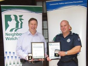 Neighbourhood Watch service acknowledged with awards