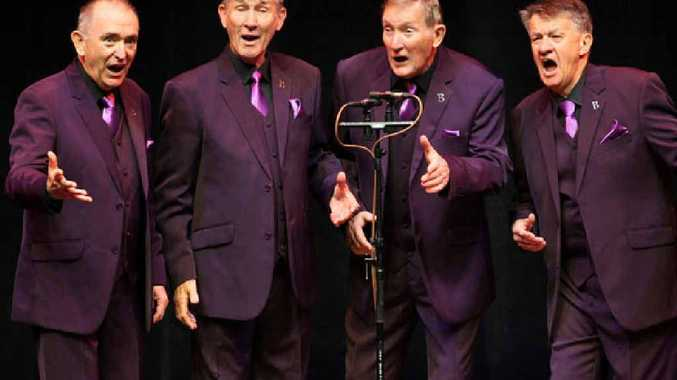 SWEET HARMONIES: Benchmark will be one of the groups performing at the upcoming Barbershop for Blokes fundraiser on November 14.