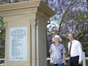 Late honours for Pine Mountain war heroes