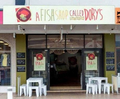 FOR SALE: A Fish Shop Called Dory's in Ballina.