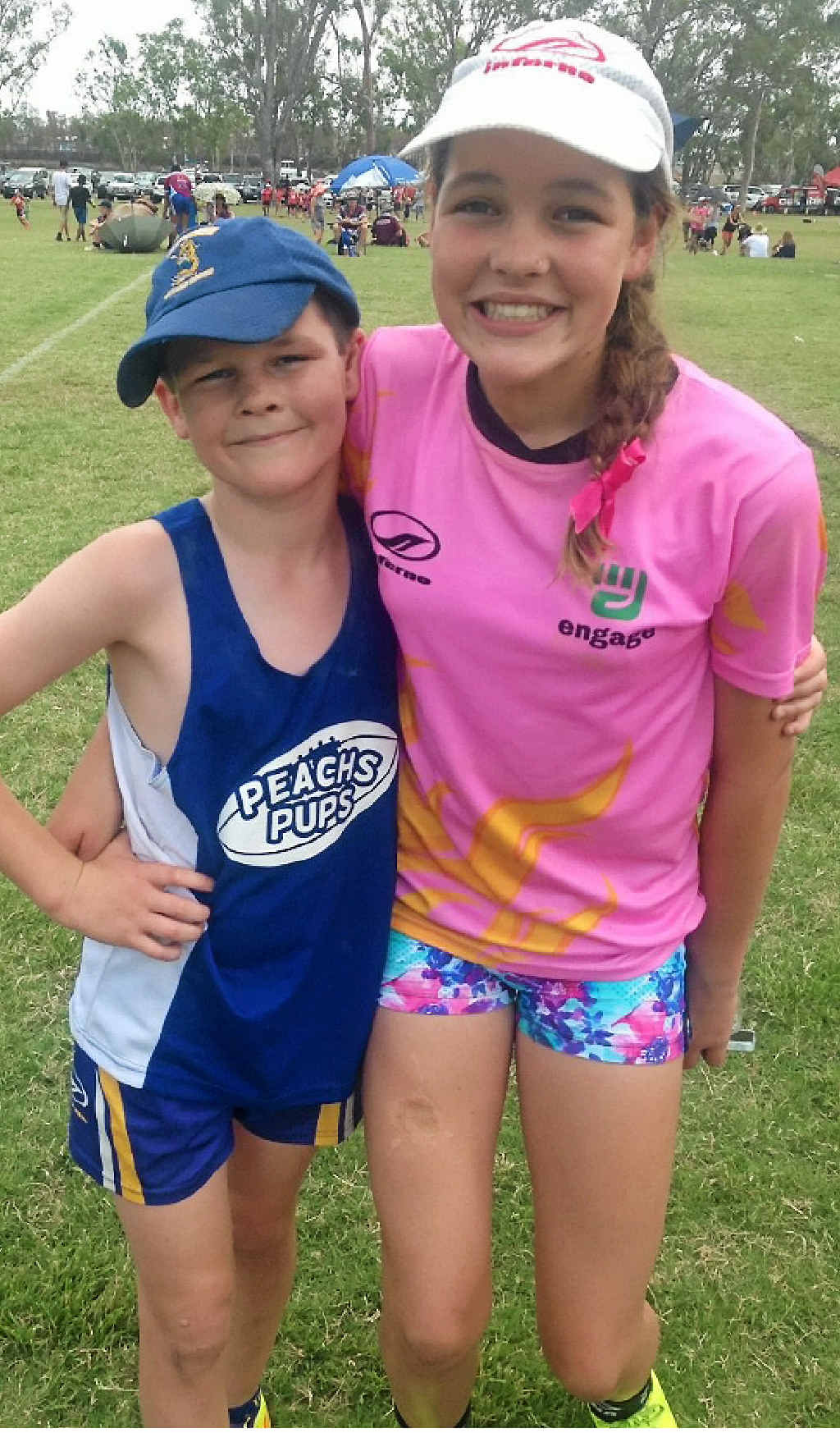 Lilly Peachey played in the under-14 Gladstone team that finished runner-up.