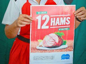 Observer giving away 12 Hams of Christmas