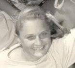 Fiona Barnett as a child.