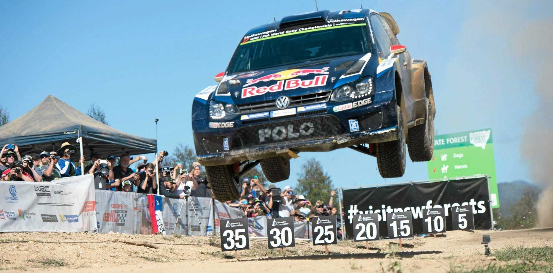 RALLY READY: The Coffs Coast is set to host the WRC Rally Australia in 2016.