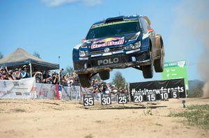 WRC rally stage14 Wedding bells. Jari-Matti Latvala VW 13  SEPT 2015 Photo Trevor Veale / Coffs Coast Advocate